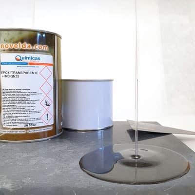 Resina Epoxi Transparente QN + IND-QN25